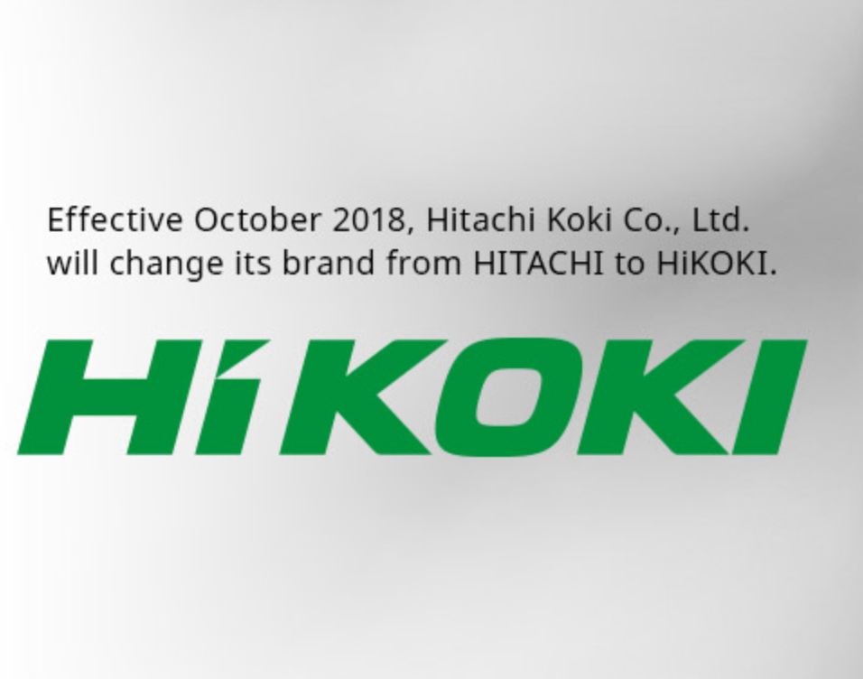 "Hitachi Koki announces brand name change to ""HiKOKI"""