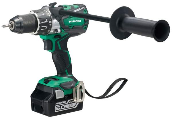 18V Brushless Combi Drill with 2 x 6.0Ah Li-Ion Batteries