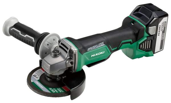 18V Cordless Angle Grinder with Brushless Motor