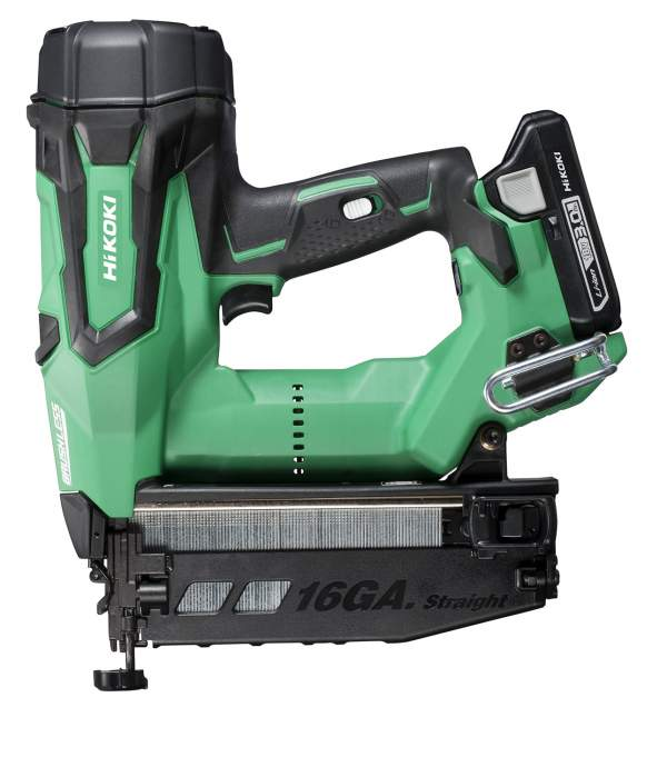 18V 16 Gauge Brushless Straight Finish Nailer