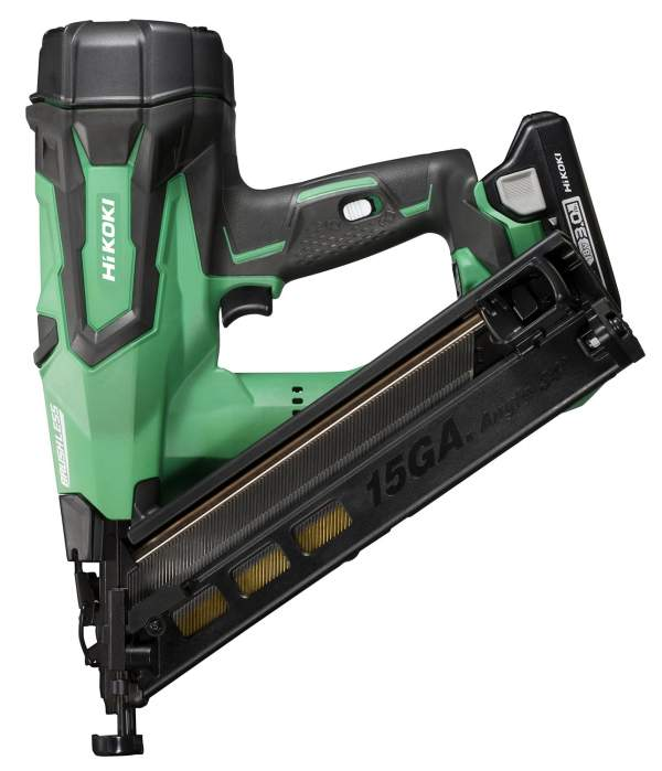 18V 15 Gauge Brushless Angled Finish Nailer