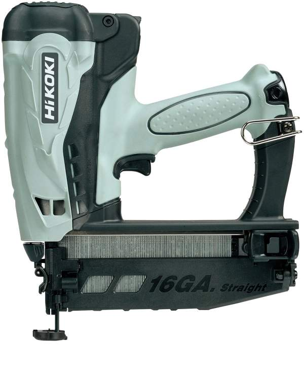 Cordless Gas Finish Nailer (Straight Nails)