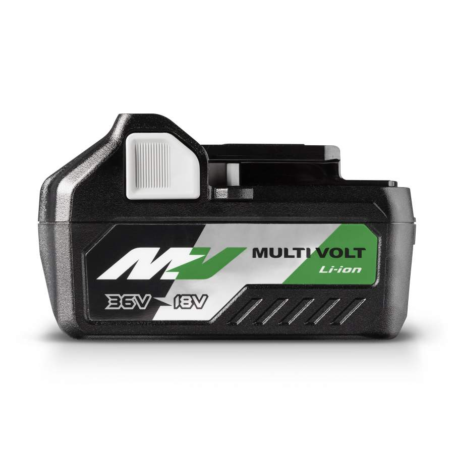 Increase performance, flexibility and power with the revolutionary HiKOKI Multi Volt battery pack.
