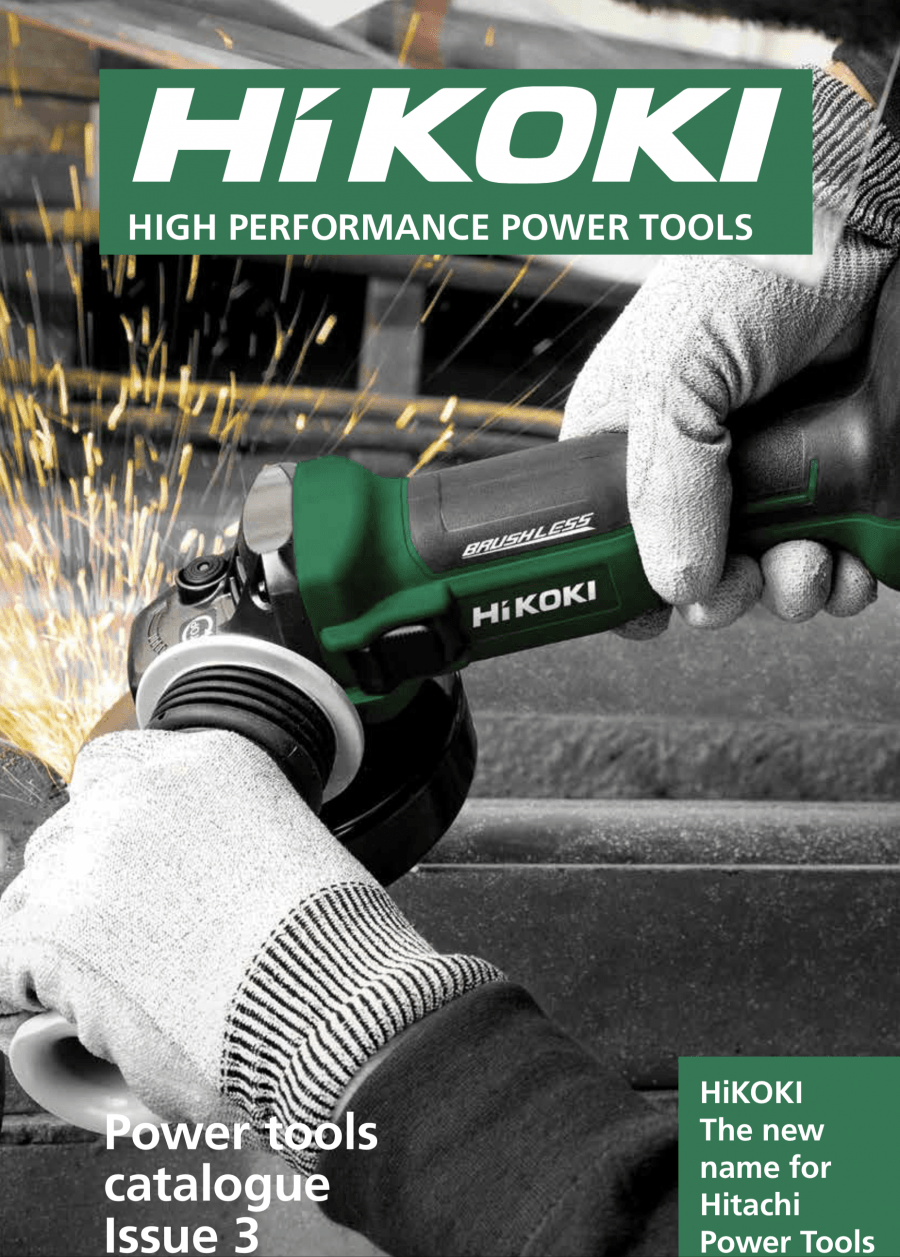 Issue 3 of the HiKOKI catalogue now available